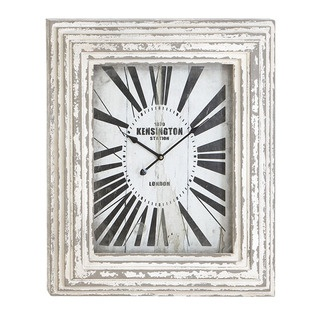 Kensington Station Weathered Vintage Classic Wall Clock | Overstock.com
