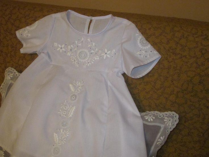 keresztelő ruhácska