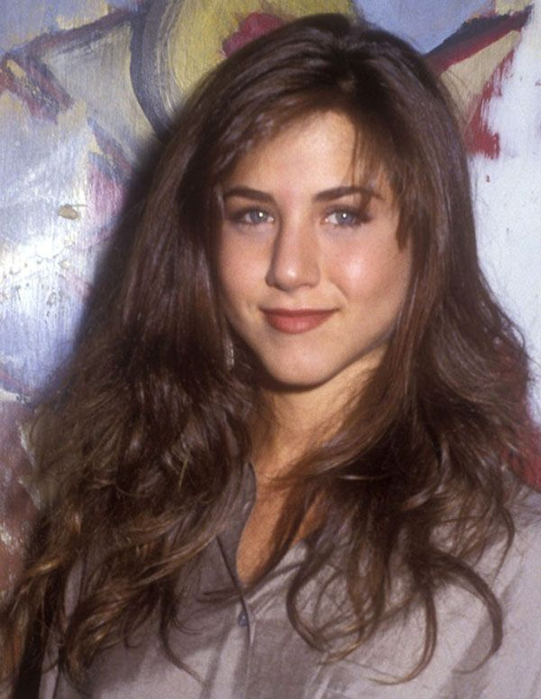 Jennifer Aniston Brunette 365hairstyle Jennifer