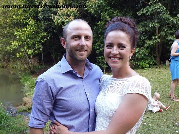 Laura and Alistair became Mr and Mrs on 26th September in a bushland setting at Yungaburra Qld. Congratulations to you both and thanks for including me in your day
