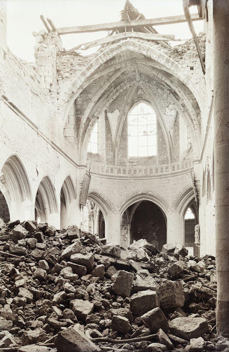 World War I photos: Destroyed Cathedrals