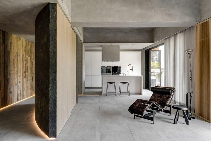 Il minimalismo nostalgico di una casa disegnata per for Ospitare a casa