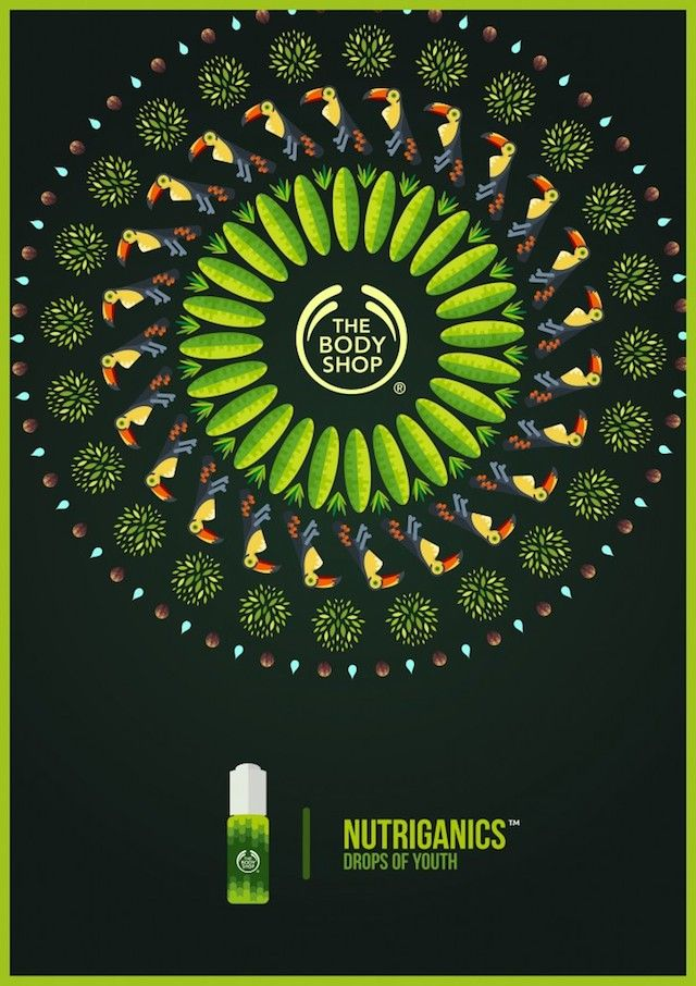 Tropical Posters for Body Shop Campaign-0