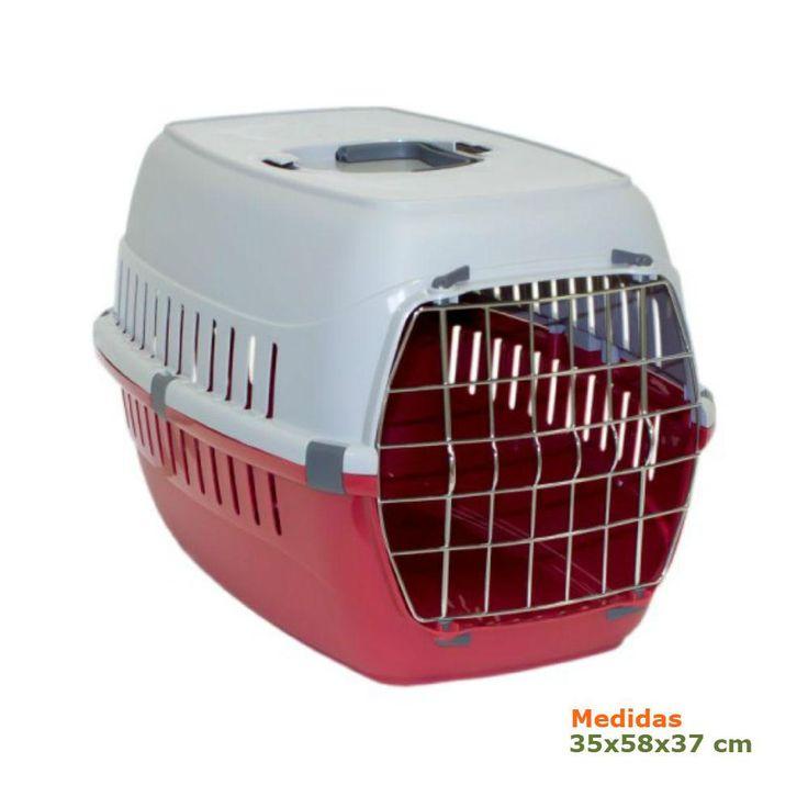 Transportín para perros o gatos Roadrunner Rojo