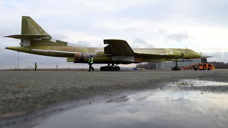 Blackjack returns: Russia unveils newly built Tu-160 supersonic strategic bomber https://tmbw.news/blackjack-returns-russia-unveils-newly-built-tu-160-supersonic-strategic-bomber  A newly built Tupolev Tu-160 long-range heavy strategic bomber – the first one since 1992 – was rolled out of the hangar as Russia resumes production of the world's largest operational bomber that NATO designates as Blackjack.The new Tu-160, which is nicknamed White Swan in Russia, was revealed at the Kazan Aviation Factory, a branch of Moscow-based Tupolev Design Bureau, on Thursday. The aircraft was built, using parts stored since Soviet times, to establish if the factory was capable of resuming serial production of the legendary bombers.The bomber will now undergo testing on the ground, before taking to the skies in February 2018. The serial production of Tu-160s, which remained stalled since 1992, will resume after the aircraft proves that it matches the assigned criteria, Major-General Sergey Kobylash, the chief of Russia's Long-Range Aviation, told RIA-Novosti.Russia's military announced the decision to resume production of the Tu-160s in modernized Tu-160M2...Read more on TmBW.News