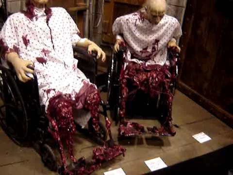 Hey how come intentionally scary animatronics aren't as freaky as ...
