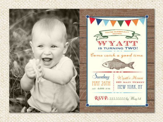 Fishing Birthday Invitations correctly perfect ideas for your invitation layout