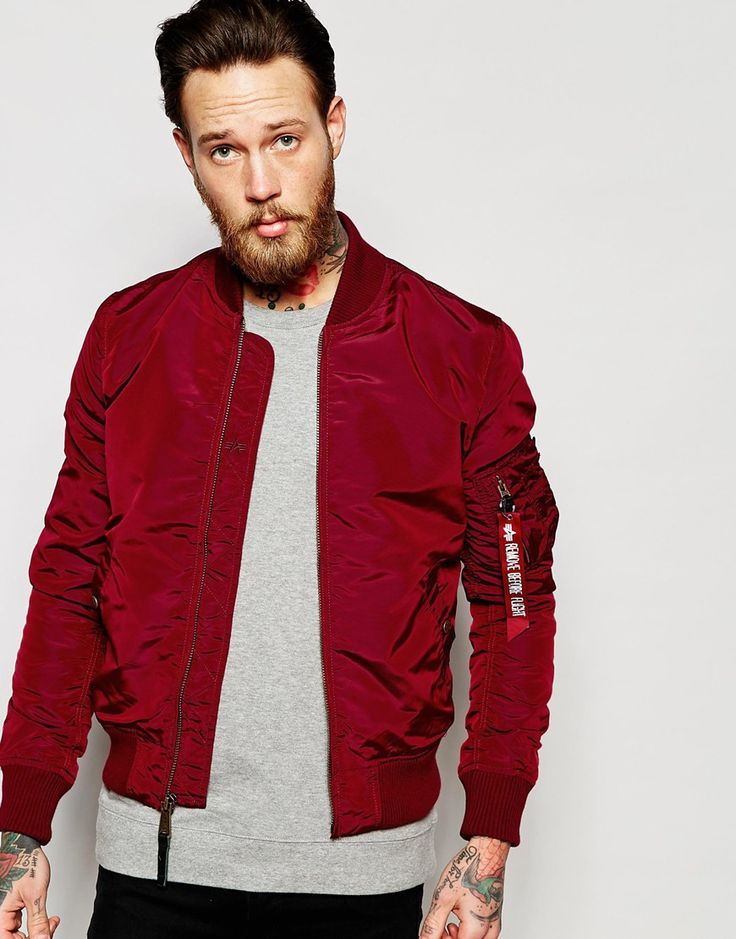 17 Best ideas about Red Bomber Jacket on Pinterest | Burgundy ...