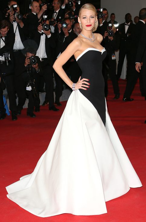 The Style Queen of Cannes! Blake Lively's Best Film Festival Fashion | People - Gucci in 2014