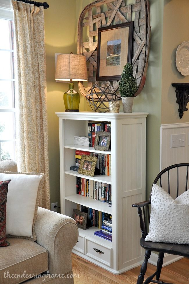 Bookcase Makeover Bookcases And Tobacco Basket On Pinterest