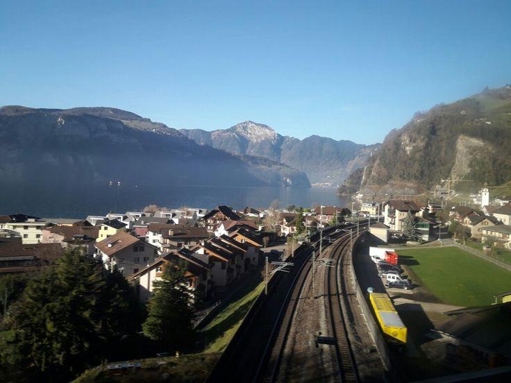 Awesome views of Switzerland . #eurotrip
