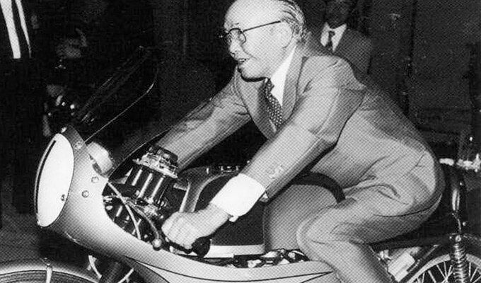 Soichiro Honda as the founder of the Honda Company. However, Soichiro Honda was also the man who changed the view on the traditions of running a business .