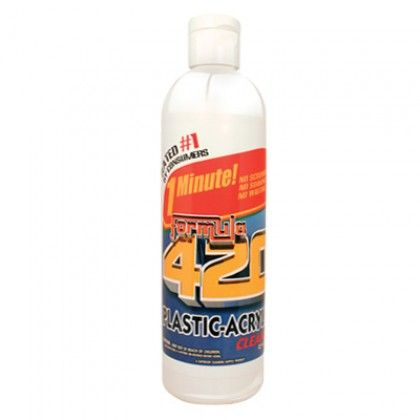Formula 420 Acrylic Pipe Cleaning Solution - 12oz Bottle