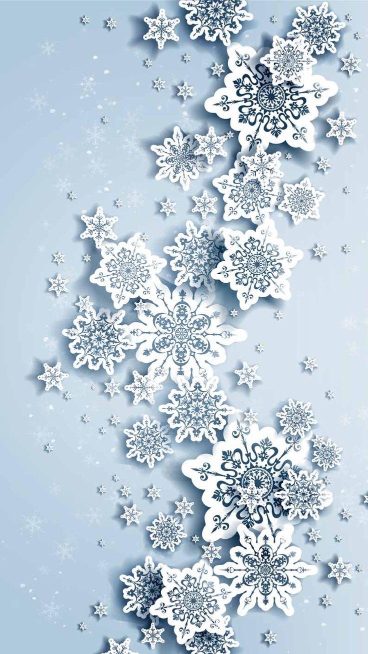 Wallpaper iPhone /snowflake ⚪️