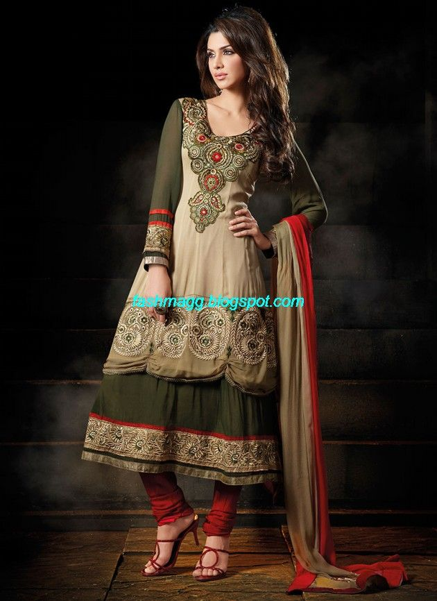 New-Designers-Anarkali-Frock-Churidar-Salwar-Kameez-Latest-Fashion-Dress-7