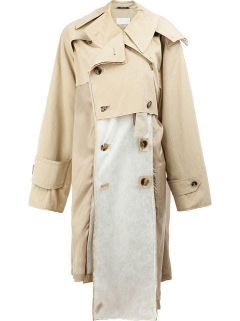 dfe4eb0af46329 Shop Maison Margiela deconstructed trench coat | T in 2019 ...