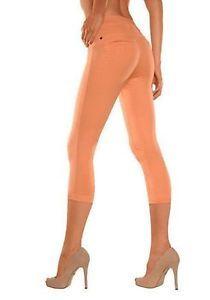 Bequem und supersexy!  Buffalo Leggings im Jeans look in Orang Größe 36/38 NEU  | eBay