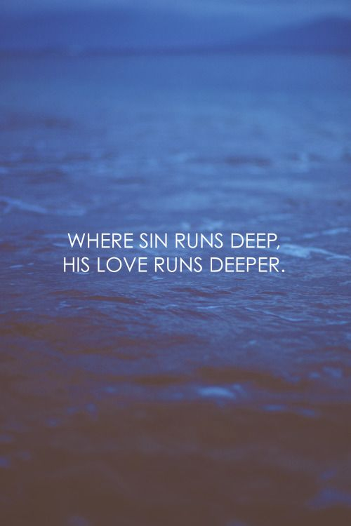 His Love Runs Deeper