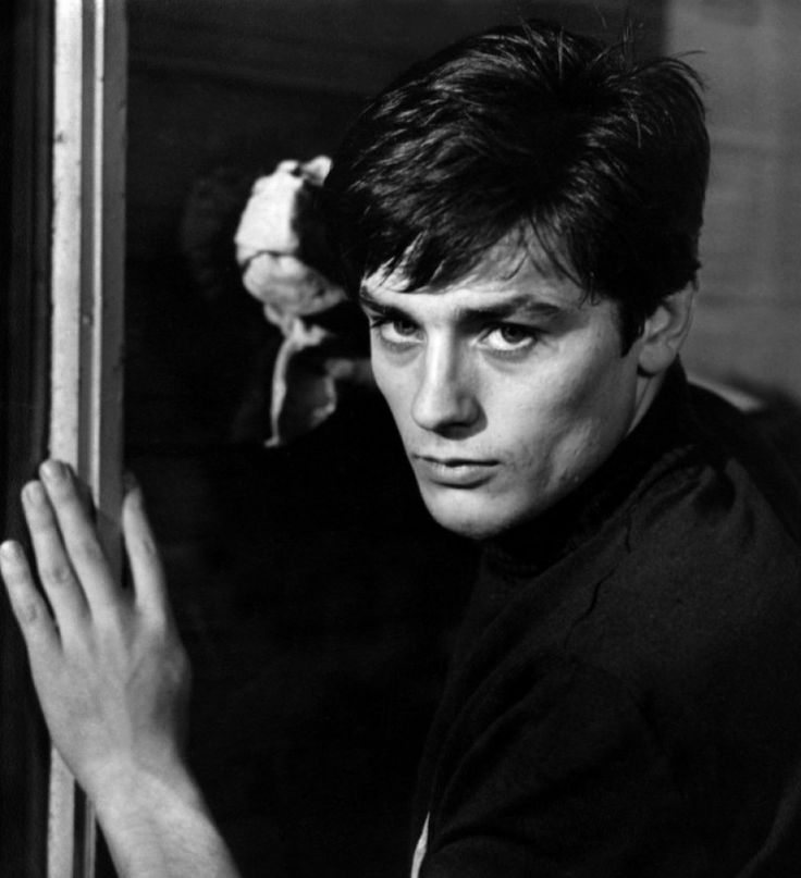 Alain Delon in a still from Rocco i Suoi Fratelli, dir. Luchino Visconti (1960)