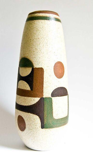 Retro Pottery Net: Lapid Modernist Pottery, Israel - Post 2