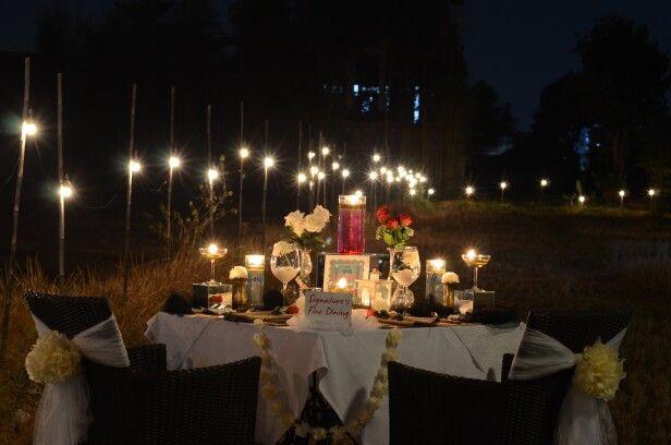 Romantic Dinner Nov 6 , 2015