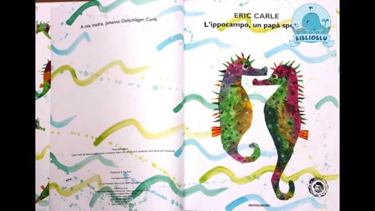 """Lettura animata BiblioBlu """"L'ippocampo, un papà speciale"""" di Eric Carle."""