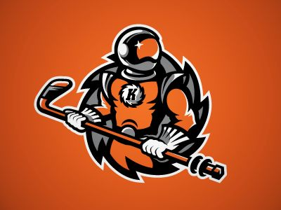 "The Komets.   What the ""UTD Comets"" logo and mascot should have looked like :)"