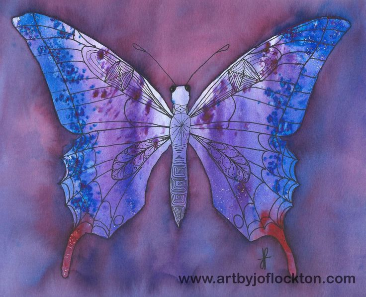 Brusho Butterfly