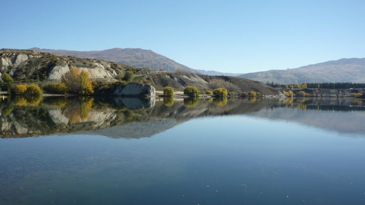 Bannockburn Inlet and a still autumn's morning - amazing!!