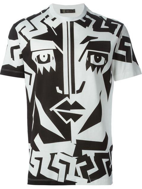 Versace Printed T-shirt - Luisa Boutique - Farfetch.com