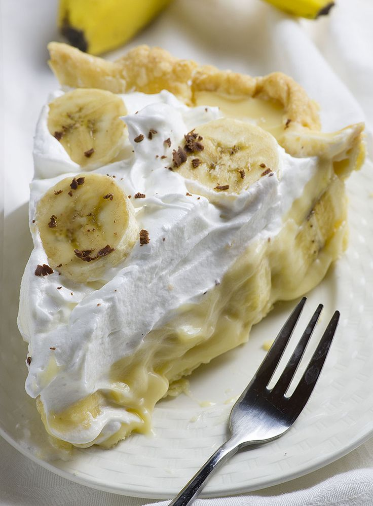 Old Fashioned Banana Cream Pie is from scratch homemade pie recipe like your grandmas used to make. If you're crazy for classic cream pies, this needs to be on your Easter table! A tender, flaky crust