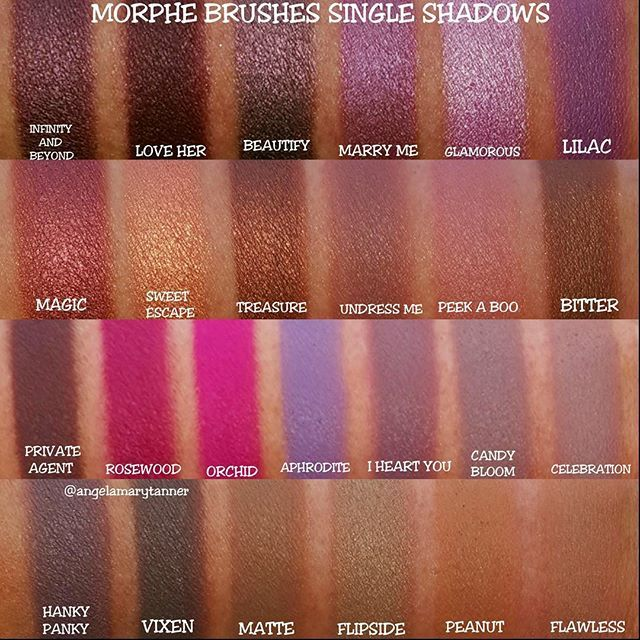 MORPHE BRUSHES INDIVIDUAL EYESHADOWS ($2.29, EACH)  Last look at my new shadows from MORPHE BRUSHES! I did a separate…