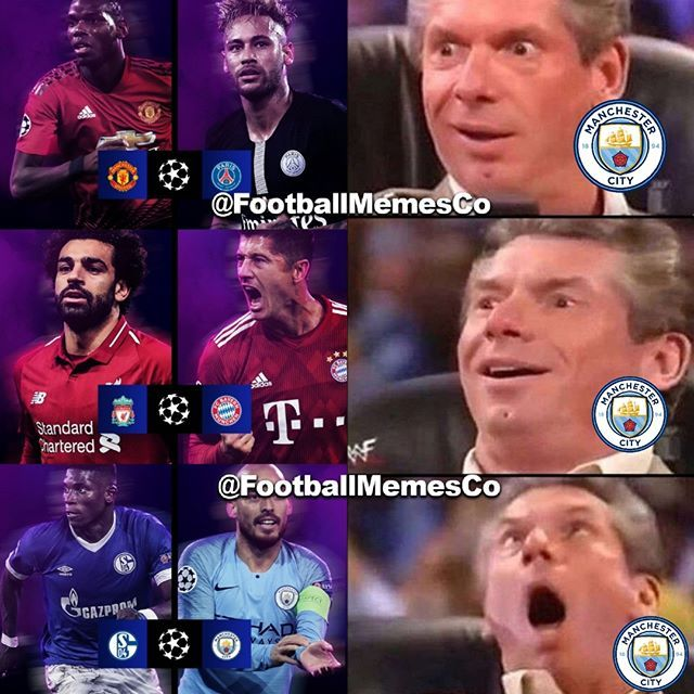 Manchester City Fans Right Now Uefachampionsleague Ucl Championsleague Mancity Manunited Manchesterc Football Memes Soccer Memes Funny Sports Memes