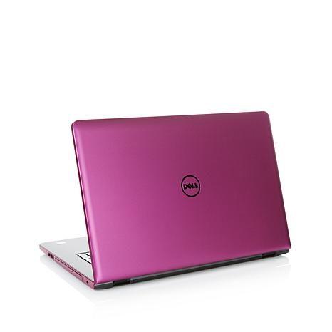 "Dell Inspiron 17.3"" HD LED AMD A8 Quad-Core, 12GB RAM 1TB HDD Windows 10 Laptop - 8240851 | HSN"
