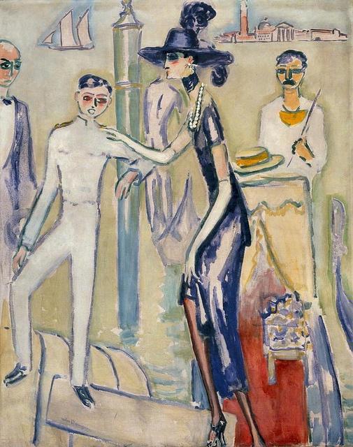Femme à Venise, Kees van Dongen, (1877-1965) Date : sd
