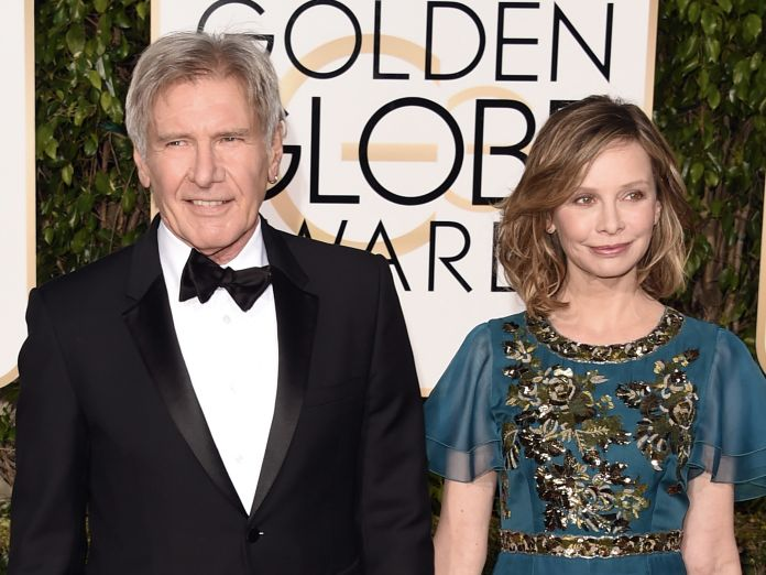 HARRISON FORD AND CALISTA FLOCKHART: 22 YEARS  Ford, 75, and Flockhart, 52, first met at the 2002 Golden Globe Awards. They married in 2010 and have an adopted son.