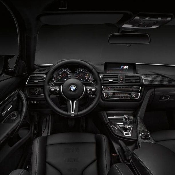 The new Competition Package interior for the BMW M3 and BMW M4. #BMW #BMWM #luxury #interior #luxurycars #automotive #BMWclub #FieldsBMW #BMW #Florida