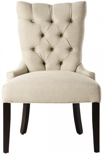 Custom Tufted-Back Dining Chair - Dining Chairs - Kitchen And Dining Room Furniture - Furniture | HomeDecorators.com