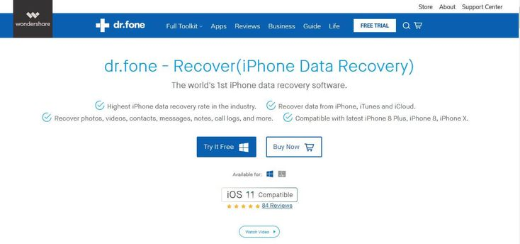 Dr.fone - Recover (#iOS) is one of the most popular #iPhone data recovery #software in the world. Dr.fone prides itself on being one of the most complete iOS device data management platforms, and it's safe to say that you'll never need anything else.