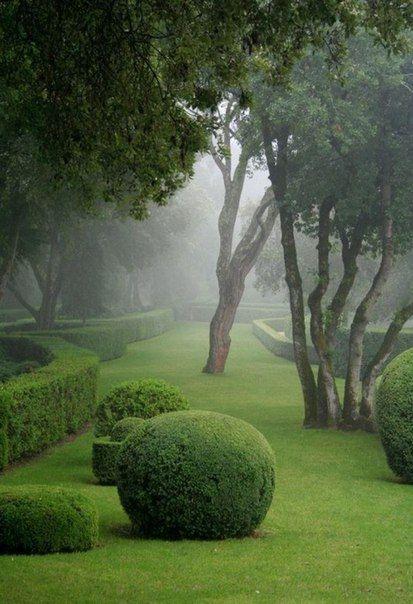 ♥ | © Gardens of Château de Marqueyssac, France