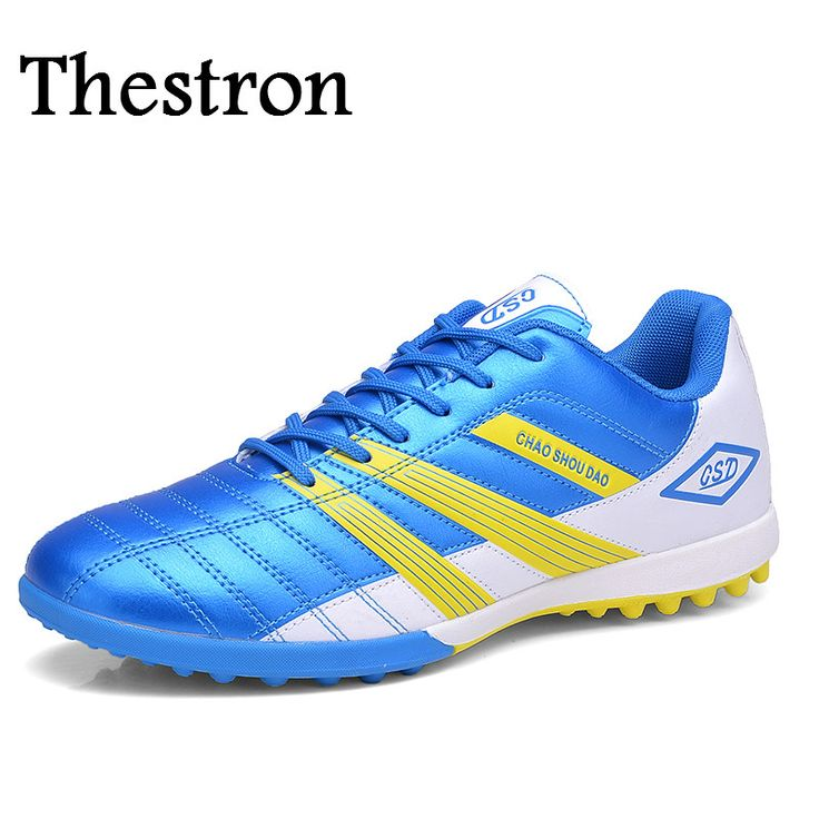 Thestron Brand Soccer Boot Turf  Athletic Shoes Men Free Shipping Men Soccer Sneakers Breathable Footbal Trainers Kids