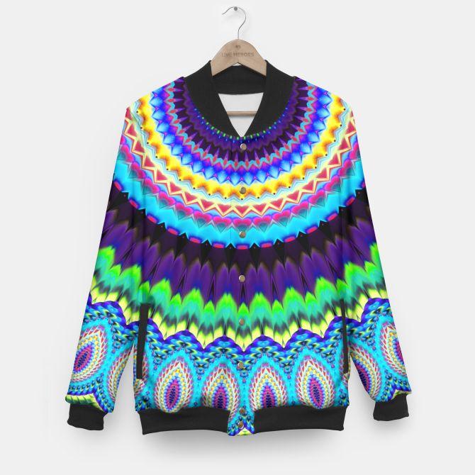 Colorful mandala jacket
