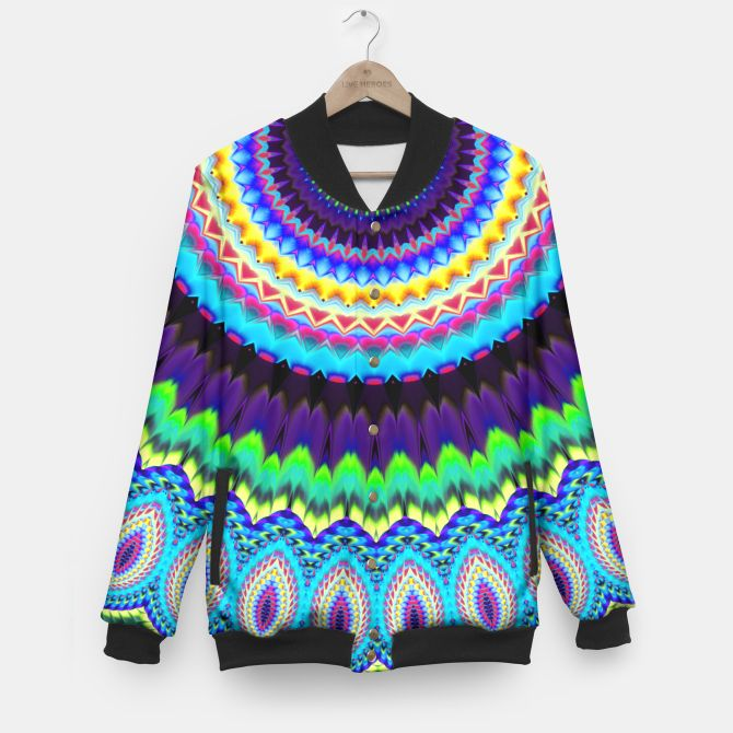 Colorful mandala jacket