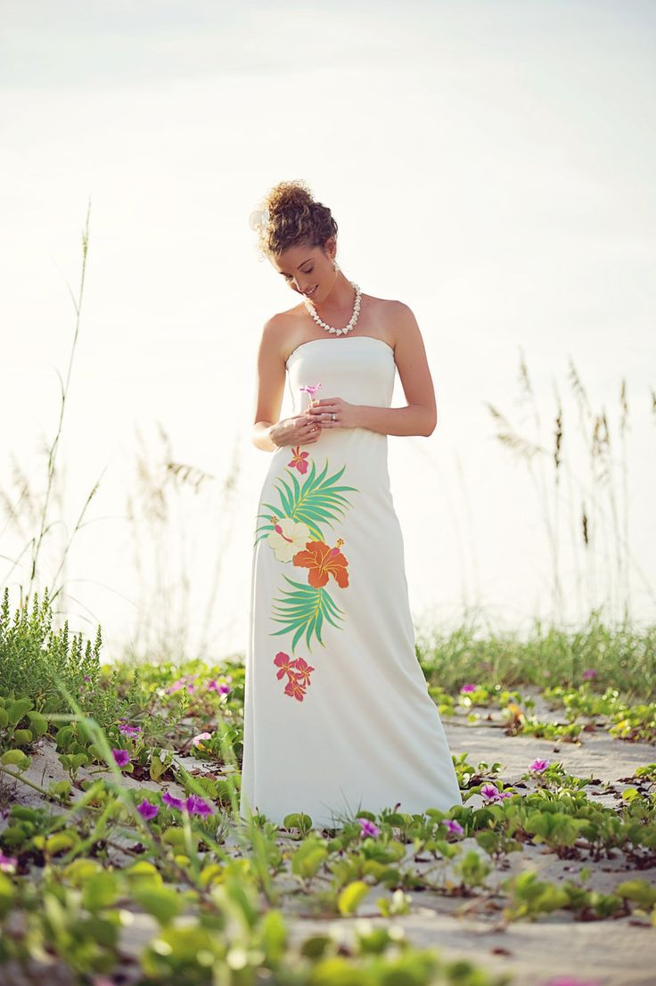 27 best tropical wedding attire images on pinterest for Wedding dresses for tropical wedding