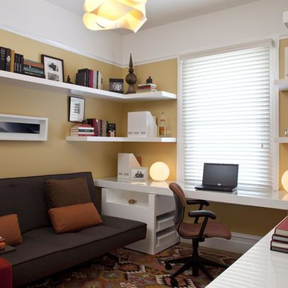 Modern home office future home pinterest despacho en for Decoraciones para casas chicas