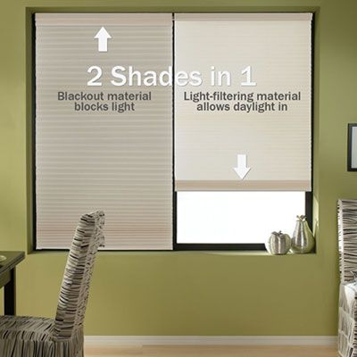 Cordless Day Night Shades Give You A Light Filtering And Room Darkening Shade In One With Completely Operation These