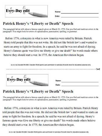 patrick henry an analysis of americas Biographycom profiles patrick henry, great orator and an important figure in the history of the american revolution.