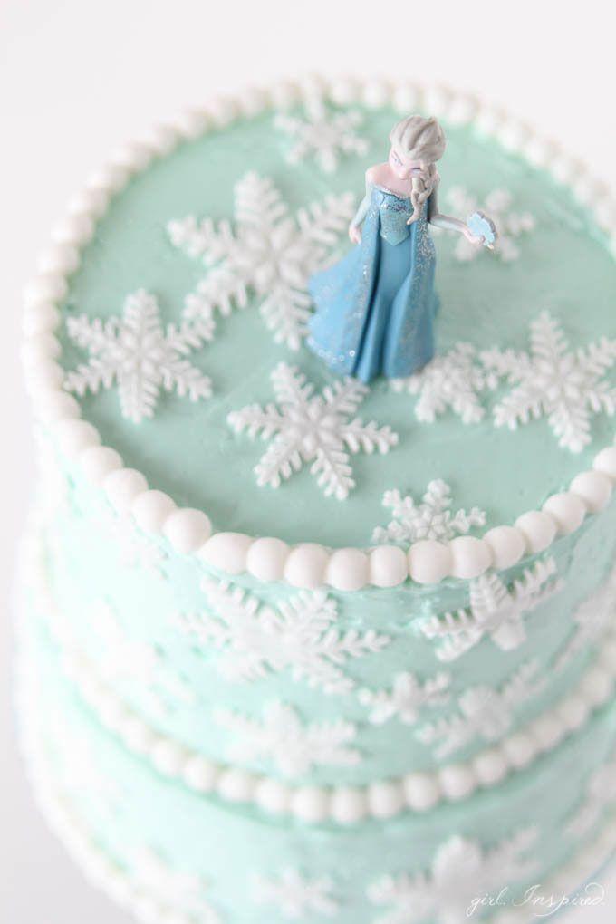 Congelado Floco de Neve Inspired bolo