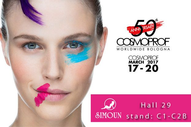 Simoun stand at Cosmoprof Worldwide Bologna 2017. See you there!