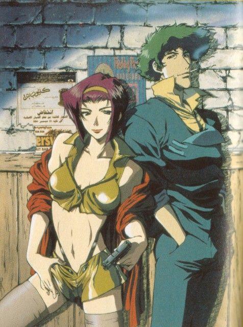 Toshihiro Kawamoto, Sunrise (Studio), Cowboy Bebop, Faye Valentine, Spike Spiegel